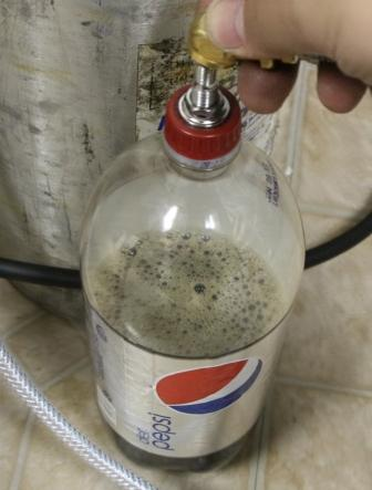 Charge your soda with CO2