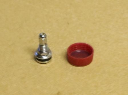 Tire Valve Stem and Bottle Cap